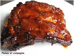 cuisiner travers de porc travers de porc caramélisés cuisson au four plumes et compagnie