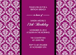 70th birthday invitations template invitations ideas