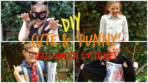 diy cute u0027punny u0027 halloween costume ideas youtube
