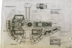 millenium falcon floor plan star wars the blueprints visualizer wsj