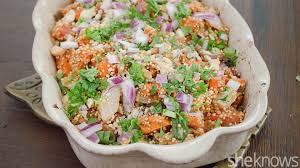 sweet potato quinoa casserole a healthier take on a thanksgiving