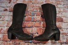 womens boots size 11 leather born boots size 11 ebay
