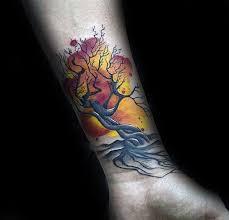45 small tree tattoos golfian com