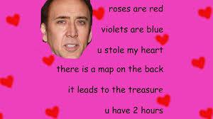 U Meme - card invitation sles valentine card meme red love heart pattern