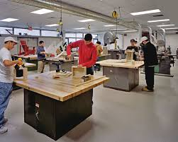 wood shop lincoln sudbury regional high school designshare projects
