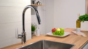 Hansgrohe Allegro Kitchen Faucet by Kitchen Hansgrohe Kitchen Faucet Within Satisfying Hansgrohe