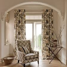 Brown Patterned Curtains Brown Flower Curtains 100 Images Brown Curtains With Lime