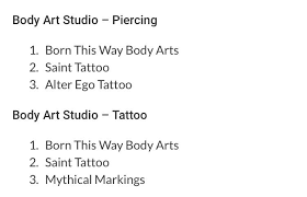 born this way body arts tattoo u0026 piercing shop knoxville