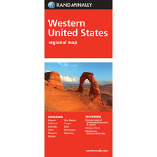 Map Of West United States by Rand Mcnally Folded Map Western United States