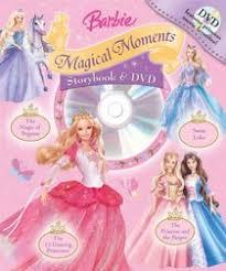 barbie magical moments storybook dvd readers book dvd jill
