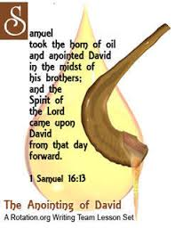 anointing horn wt anointing of david bible skills workshop 1
