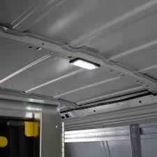 enclosed trailer led lights interior lighting inlad truck van company