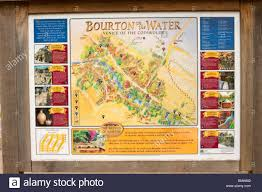 map uk villages map of bourton on the water the cotswolds gloucestershire