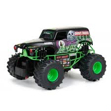 monster jam rc truck bodies new bright 1 24 scale r c monster jam grave digger walmart com