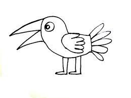 bird coloring page cartoon birds coloring pages