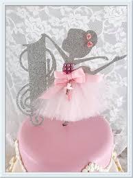 Ballerina Decorations Ballerina Cake Topper Ballerina Party Decorations Ballerina