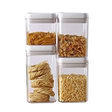 airtight kitchen canisters easy lock airtight kitchen storage containers 4