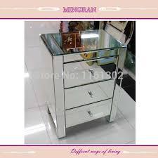 table pour chambre mr 401002 biseauté tranchant miroir stand table d appoint