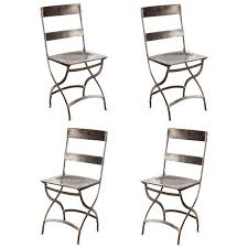 Folding Bistro Chairs French Folding Bistro Chairs Antiques Modern And Side Chairs