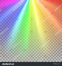 Color Spectrum Rainbow Rays Color Spectrum Flare Rainbow Stock Vector 415783066