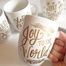 Mug Ideas 1 For Each Person Stuff With Cocoa Mix Or Candy Handmade