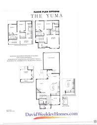david weekley house plans arts