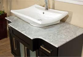 Silkroad Exclusive Kallista Bathroom Vessel Sink Vanity Bathroom - Bathroom vanity for vessel sink