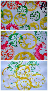 Art And Craft For Kids Of All Ages - art activities for kids citrus stamping kids play box