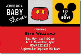 mickey mouse baby shower invitations mickey mouse baby shower invitations jpg immediately