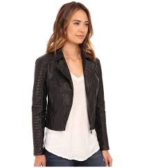 female motorcycle jackets billabong night moves motorcycle jacket in black lyst