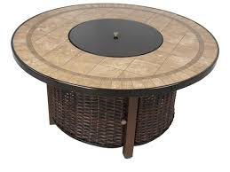 Gas Fire Pit Table And Chairs Kinger 5 Piece Propane Gas Firepit Set Includes 4 Cushioned
