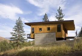 this elevated cabin design was done on a budget plan