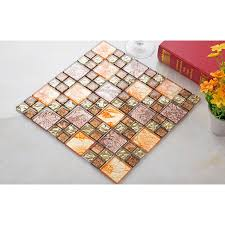 Crystal Glass Mosaic Tile Plated Glass Art Design Wall Tile Hall - Cheap mosaic tile backsplash