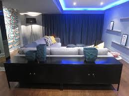 nubeling interior decor shew design white and blue color