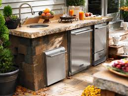 how to build a outdoor kitchen island backyard kitchen with