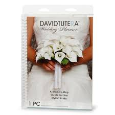 wedding book planner david tutera wedding planner