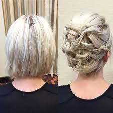 Hochsteckfrisurenen F Kinnlanges Haar by Updos Hairstyles Hair Hår Inspiration