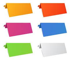 Origami Illustrator - free vector がらくた素材庫 カラフルな折り紙のテキスト シート