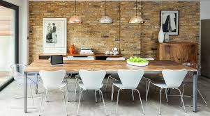 ideas for dining room walls 16 charming dining rooms with exposed brick wall