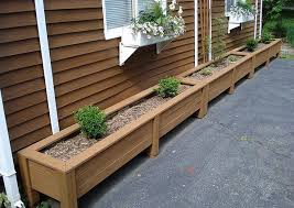 Free Wooden Planter Bench Plans by Best 25 Wooden Planter Boxes Ideas Only On Pinterest Wooden