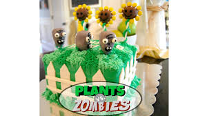 Plants Vs Zombies Cake Decorations Plants Vs Zombies Cake W Sunflower And Zombie Cake Pops Miss