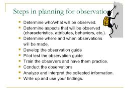 introduction what is observation