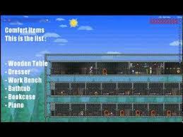 Terraria Bookcase Terraria Advanced Npc Houses Tutorial Youtube