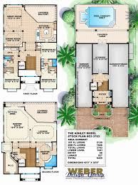 florida home floor plans 1 1 2 story 4 bedroom house plans best of florida house plans home