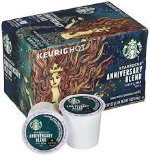 2017 starbucks anniversary blend k cup 12 count