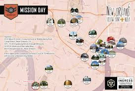 Garden District New Orleans Map by Mission Day New Orleans