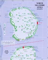 Map Of Maldives North Nilandu Atoll Map Faafu Atoll U2022 Mappery