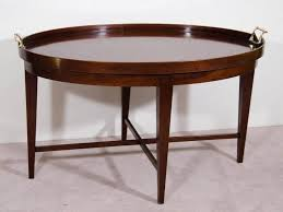 30 best ideas of oval wood coffee tables