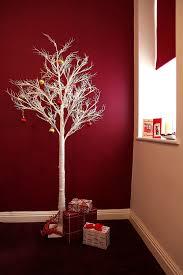 pre lit twig led floor standing 7ft outdoor indoor snowy