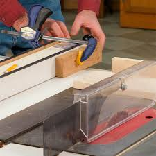 use circular saw as table saw how to use a table saw cross cutting family handyman